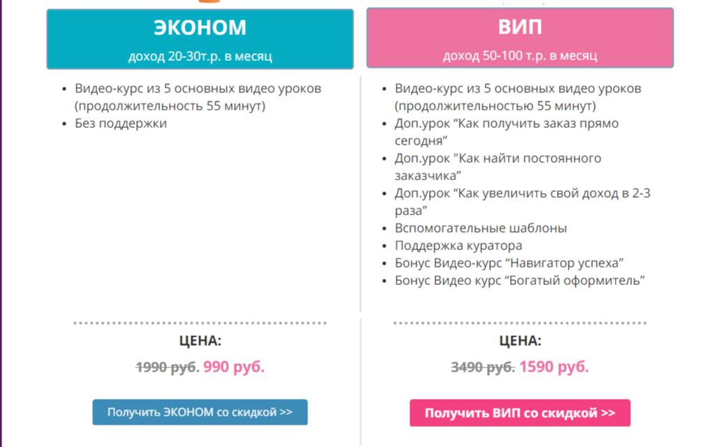 Ольга Аринина курс